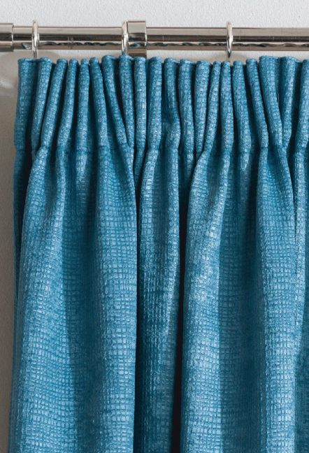 Monza Teal Thermal Curtains 1
